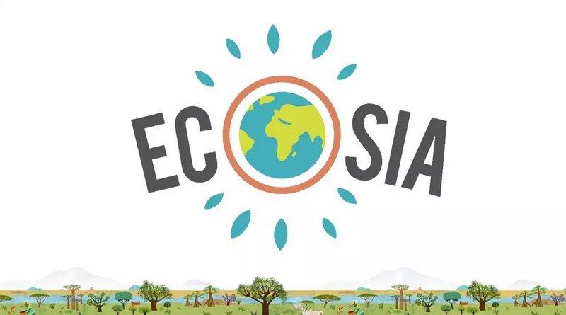 logo moteur de recherche ecosia